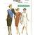 Vogue 7641 Misses Tapered Dress 80s Vintage Sewing Pattern Size 8, 10, 12 Bust