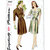 Simplicity 1040 Misses Day Dress 40s Vintage Sewing Pattern Size 14 Bust 32