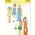 Simplicity 7321 Girls Vest, Skirt, Pants, Suspenders 70s Vintage Sewing Pattern