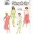 Simplicity 7164 Misses Dress, Jacket 90s Vintage Sewing Pattern Size 10, 12, 14,