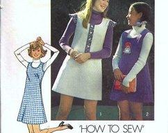 160a8557a861 Simplicity 6566 Girls Short Dress