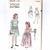 Vogue 2539 Girls Dress/Gown 40s Vintage Sewing Pattern Size 4 Chest 23 Uncut