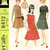 McCall's 8472 Misses Dress, Jumper, Blouse 60s Vintage Sewing Pattern Size 10,