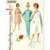 Simplicity 5205 Misses Robe, Lounging Set 60s Vintage Sewing Pattern Size 12