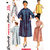 Simplicity 4925 Misses Duster, Dress, Housecoat, Coat, Robe 50s Vintage Sewing