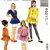 McCall's 6021 Girls Tunic, Skirt, Leggings, Shorts Vintage Sewing Pattern Size
