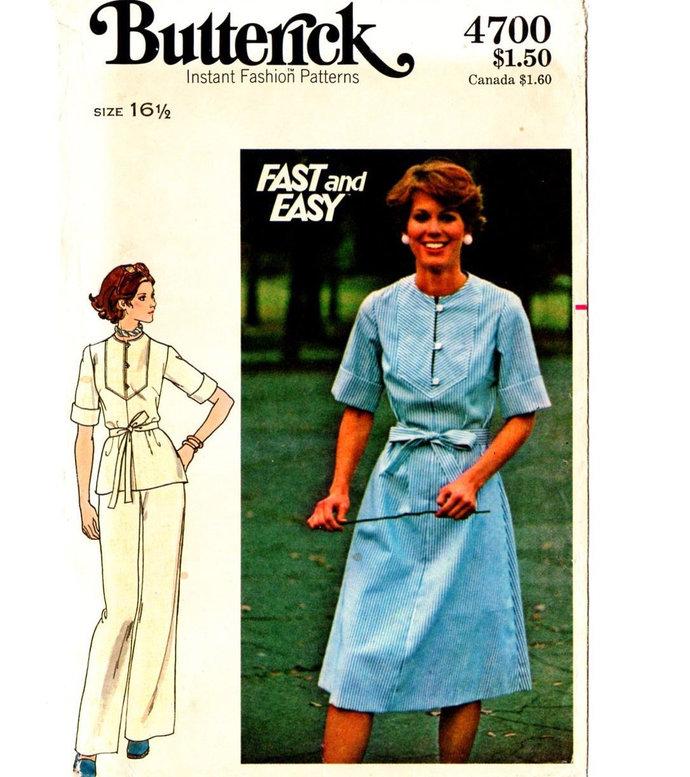 60a0e99481 Butterick 4699 Misses Dress