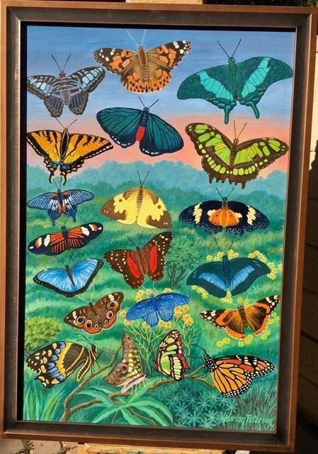 Metamorphosis Rising (Butterflies) (Rolled)