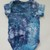 Toddler's Bodysuit, Ice Dyed Bodysuit, Shades of Blue, Uni-sex Bodysuit, Short
