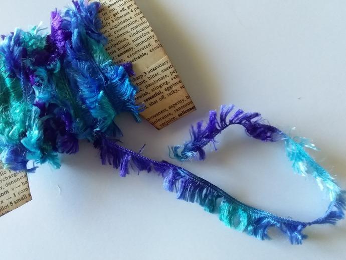 Thread- purple to blues