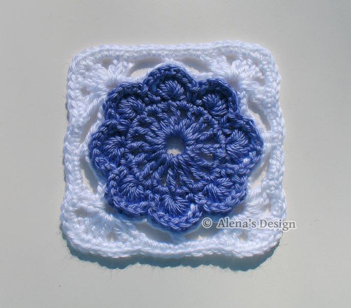 Free Crochet Pattern 152 Granny Square Crochet Patterns Crochet Flower Motif