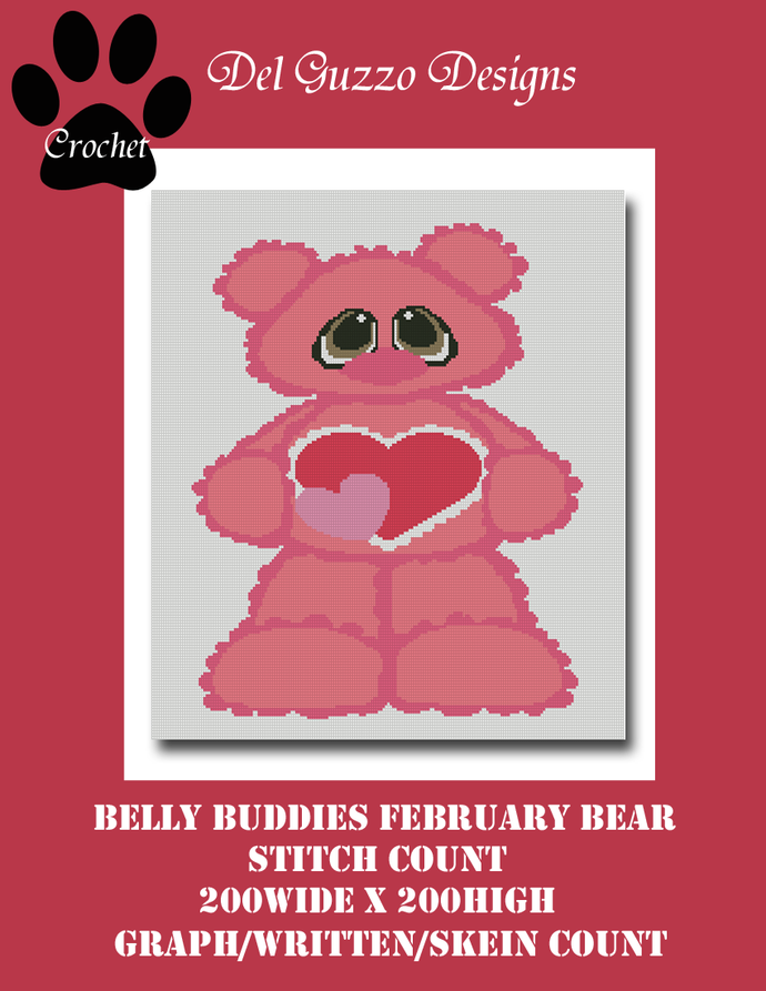 Belly Buddies Collection Pink Bear 200x200