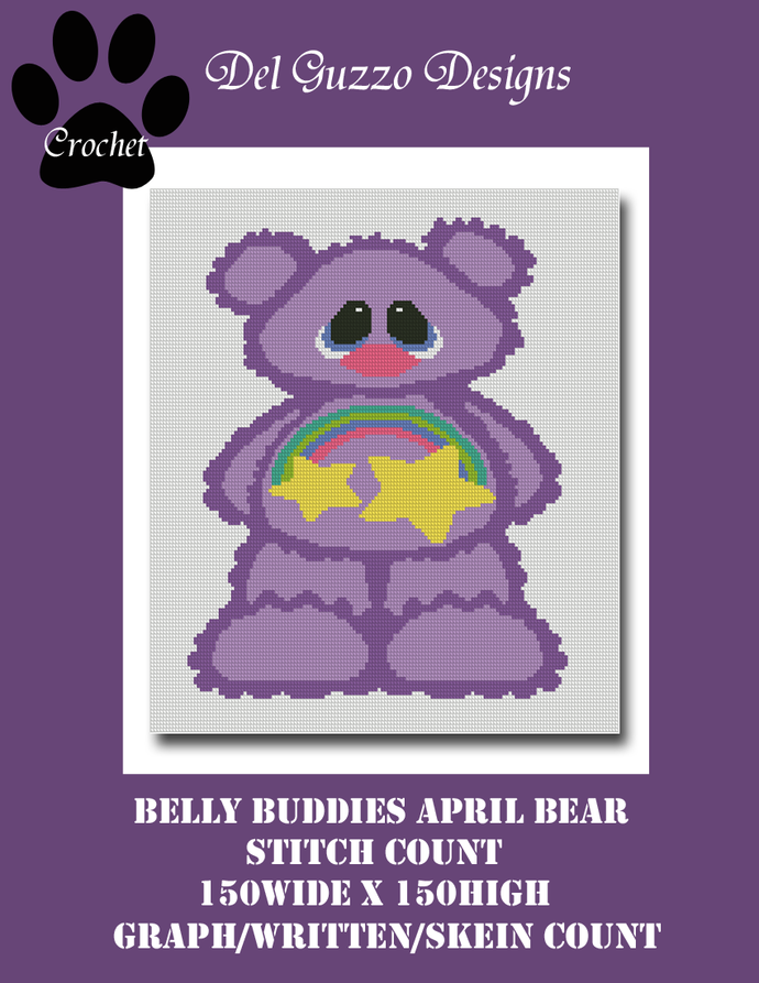 Belly Buddies Collection Purple Bear 3 150x150