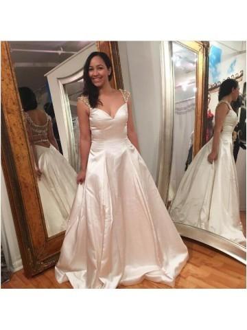 A-Line Prom Dresses, Prom Dresses Long, Prom Dresses 2019
