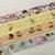 4 Rolls Limited Edition Anime Washi Tape: Crayon Shin-chan