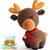 Amigurumi Crochet PDF Pattern - Reindeer / Renne - Rudolph, Sleigh, Santa,