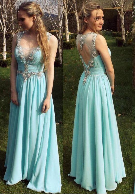 Popular Dress, Fashionable Dress ,Prom Dress with Sleeveless ,Custom Made