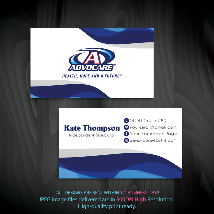 Personalized Advocare Business Cards, Advocare Business Cards, Advocare,