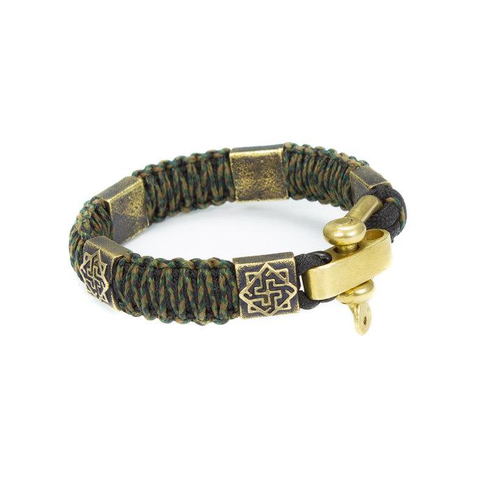 """Paracord custom bracelet """"VALKYRIE"""", celtic knot, custom bracelet, great gift."""