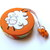 Measuring Tape Sheep on Orange Retractable Tape Measure