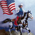 Rodeo Flag Paint Horse Cross Stitch Pattern***L@@K***X***INSTANT DOWNLOAD***