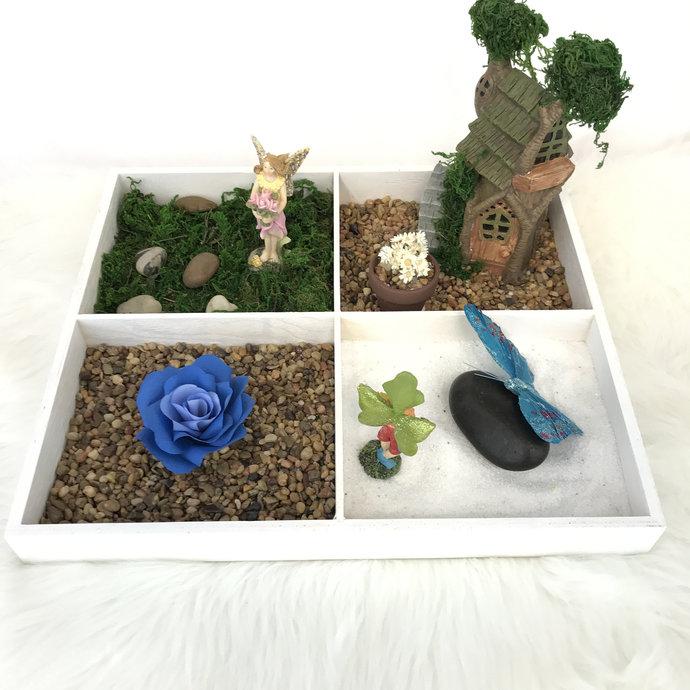 Fairy garden - Mini fairy zen garden
