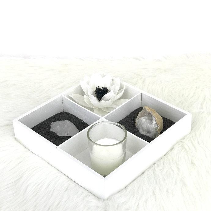 Geod serenity mini garden - Crystal indoor desktop garden