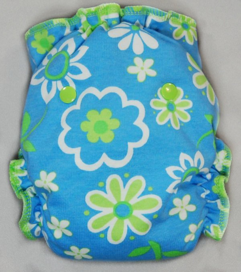 Lime and Turquoise Fun Floral - Made to Order