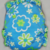 Lime and Turquoise Fun Floral - Cloth Diaper or Cover - You Pick Size and Style