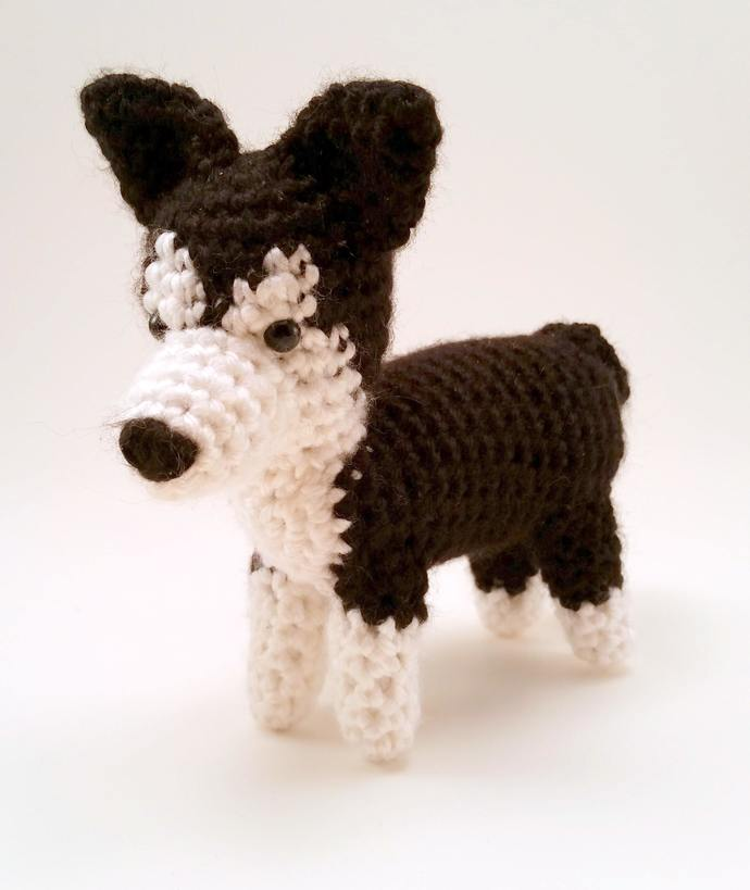 Husky Realistic Crocheted Plush - *READY TO SHIP*
