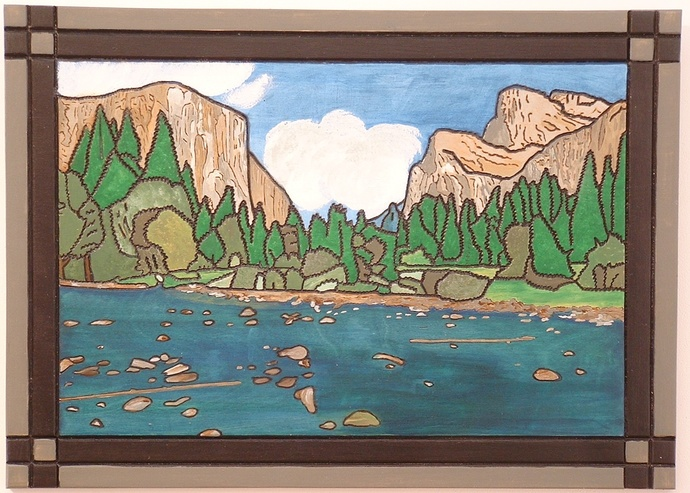 National Park Yosemite, Wood Wall Art, Home Decor