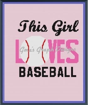 This Girl Loves Baseball