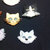 The Cats Gang Plastic Buttons/Sewing supplies /DIY craft supplies /Novelty