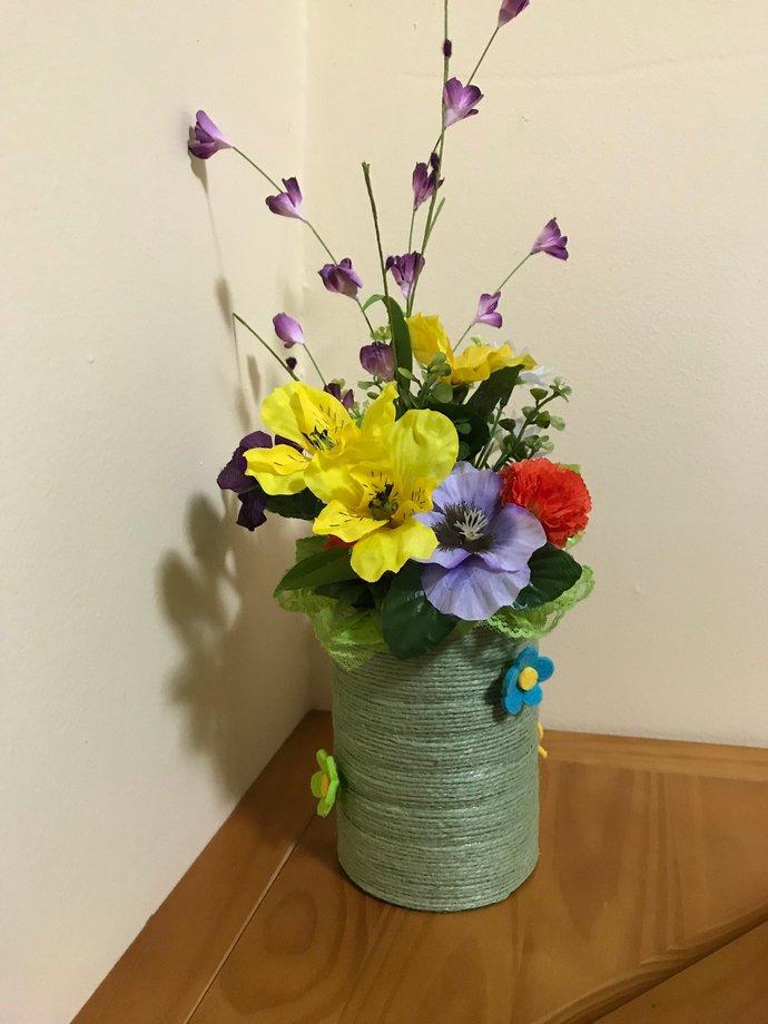 Silk Floral Arrangement/Floral Centerpiece/Artificial Flower Arrangement