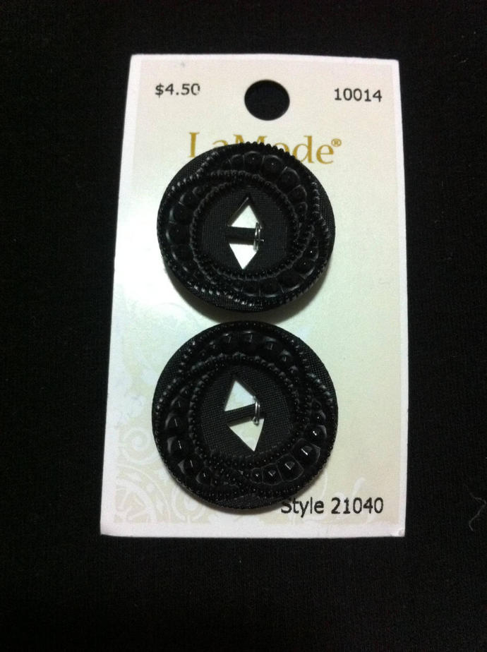 Black Plastic Buttons Novelty Sewing Crafts Accessories/ DIY craft
