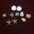 Seashells Plastic Buttons / Sewing supplies / DIY craft supplies / Novelty
