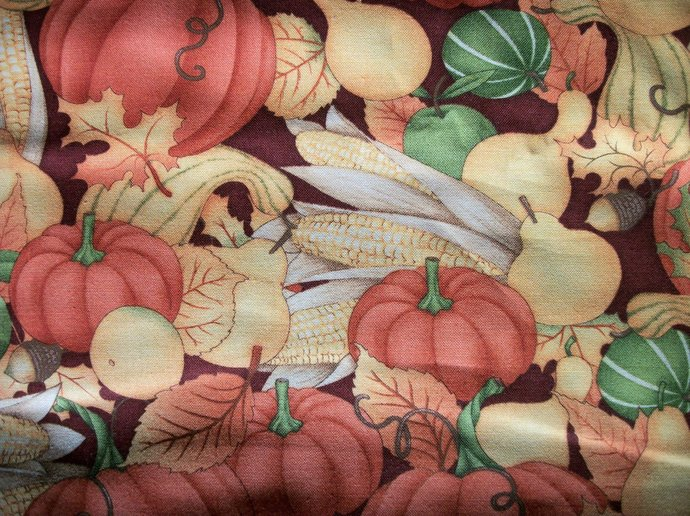 Great Harvest Cotton Fabric- Autumn Sewing supplies/Sewing Craft Supplies / Home