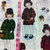Holiday paper Dolls Cotton Fabric/Sewing Craft Supplies/Sewing Supplies /