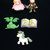 Dragons and Knights Tales Plastic Buttons/DIY Sewing & Craft supplies/Dress it