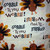 Gobble til you Wobble Cotton Fabric/Sewing Craft Supplies / Home Decor/