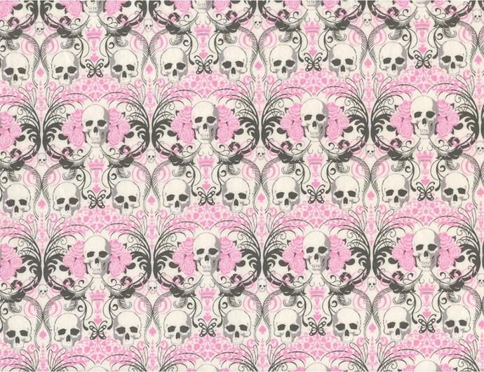 Skull Swirl Designer Cotton Knit-PREORDER DEPOSIT