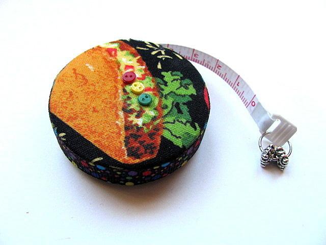 Retractable  Measuring Tape Taco Tuesday Tape Measure