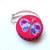 Measuring Tape Purple on Pink Butterflies Retractable Pocket Tape Measure