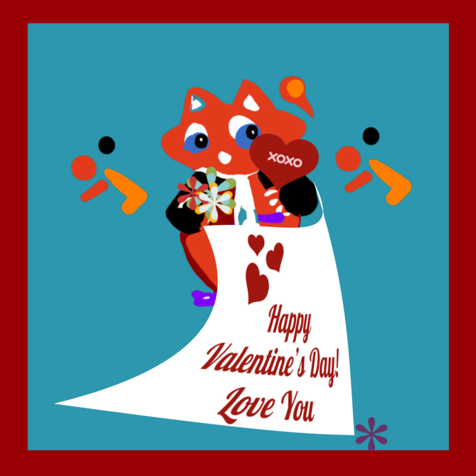 Kids Valentine Day Party Favor or candy box digital download.  Instant files,