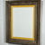 11x14 country style reclaimed wood picture frame with 9x12 yellow mat