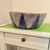 Blue Silver Decorative Paper Mache Bowl