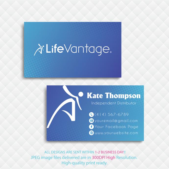 LifeVantage Business Cards, LifeVantage Custom LifeVantage Cards, Personalized