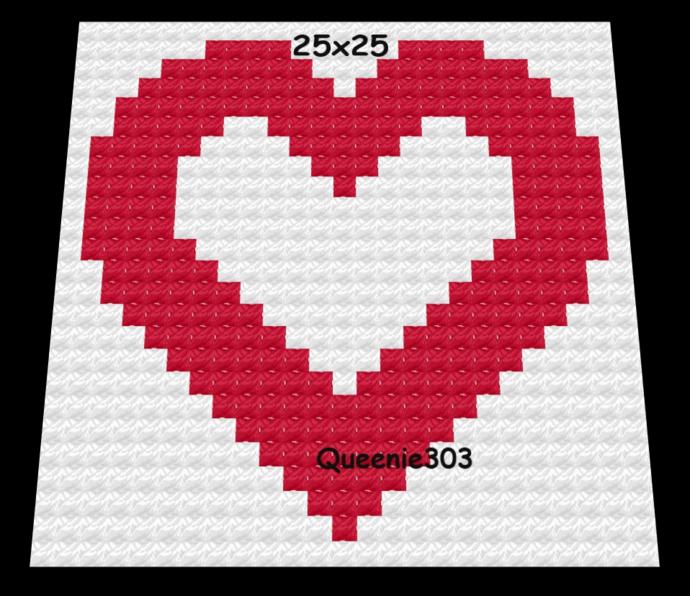 Heart 25x25