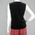 90s Velvet Top Vintage, Sleeveless Black Camisole Shirt, Kathie Lee Wide Strap