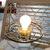 Milk Glass Hurricane Small Table Lamp, Vintage Table Lamp, Palor Table Lamp,